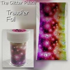 Foil - Multi Colored Galaxy Transfer Foil