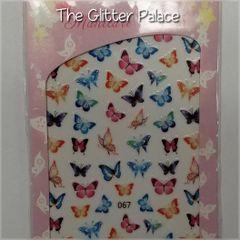 Butterfly Sticker (067)