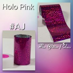 Foil - Holo Hot Pink with Dots (AJ)