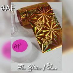 Foil - Holo Gold With Spirals (AF)