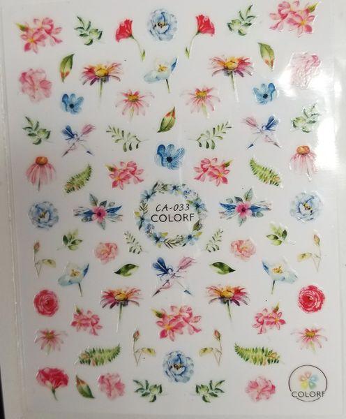 Watercolor Flowers (CA-033)