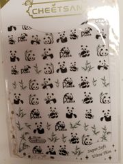 Panda Bear Stickers (TSC-136)