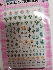 Cactus & Sombrero Stickers ( F249)