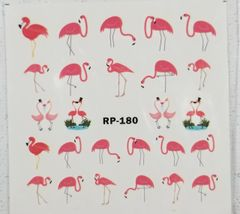 Pink Flamingo Waterslide Decal (RP-180)