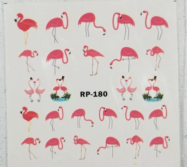 Pink Flamingo Waterslide Decal (RP-180)