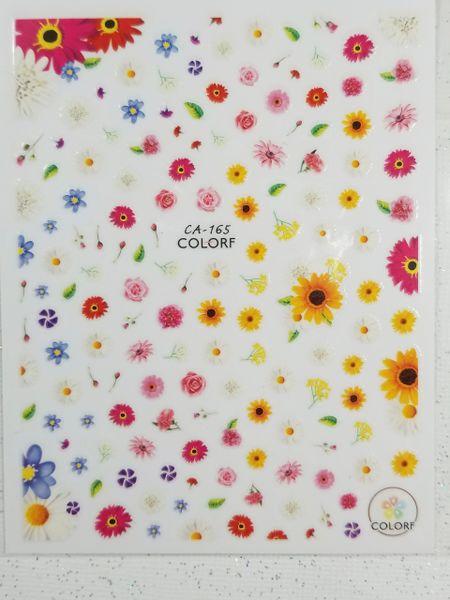 Spring Flower Stickers (CA-165)