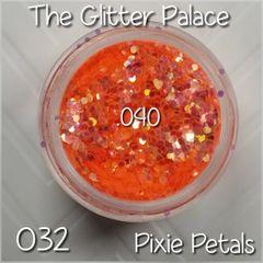 032 Pixie Petals (.040) Solvent Resistant Glitter