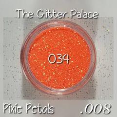 034 Pixie Petals (.008) Solvent Resistant Glitter