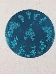 Stamping Plate (A45) Swirls