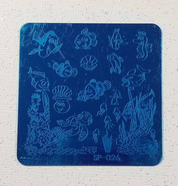 Stamping Plate (SP-026) Aquarium, Fish