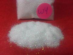 W4 White (.008) Solvent Resistant Glitter