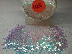 W5 Iridescent Flouro SR (.062) Solvent Resistant Glitter