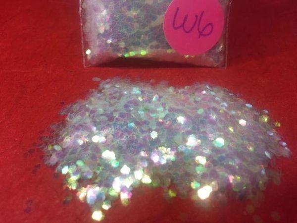 W6 IR Flouro RY (.062) Solvent Resistant Glitter