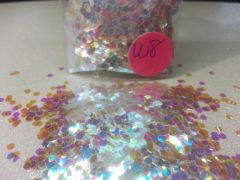 W8 Iridescent Combo (.094) Solvent Resistant Glitter