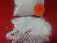 W10 Snow White (Fibers) Solvent Resistant Glitter