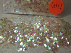W11 Iridescent (.062) Solvent Resistant Glitter