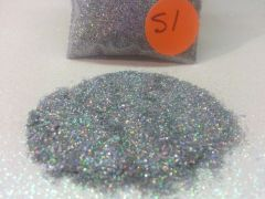 S1 Holographic Silver (.008) Solvent Resistant Glitter