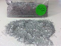 S12 Moon Gray (.040) Solvent Resistant Glitter