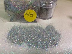 S13 Silver Jewel (.008) Solvent Resistant Glitter