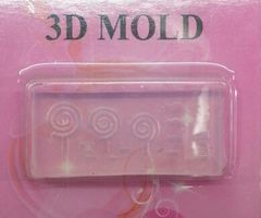 3D Mold- Lollipop #M9 -Make your own 3D Nail Decorations from The Glitter Palace.