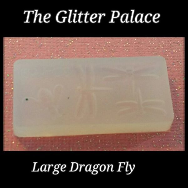 3D Mold #M1 Large Dragon Fly- Make your own 3D Nail Decorations