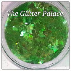 IN193 Green Iridescent Diamond Glitter Insert (1.5 gr baggie)