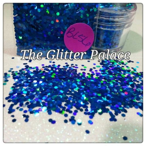 BL56 Holo Blue (.062) Solvent Resistant Glitter