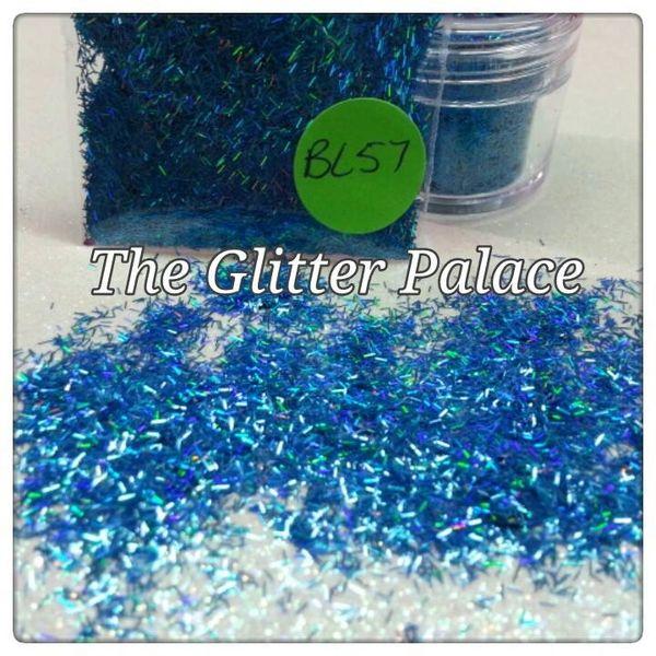 BL57 Holo Firozi Fiber Solvent Resistant Glitter