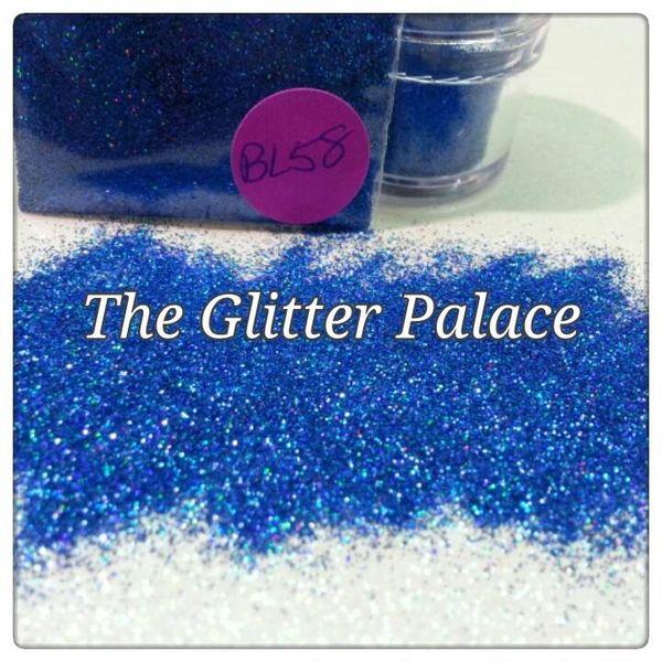 BL58 Holo Navy Blue (.008) Solvent Resistant Glitter