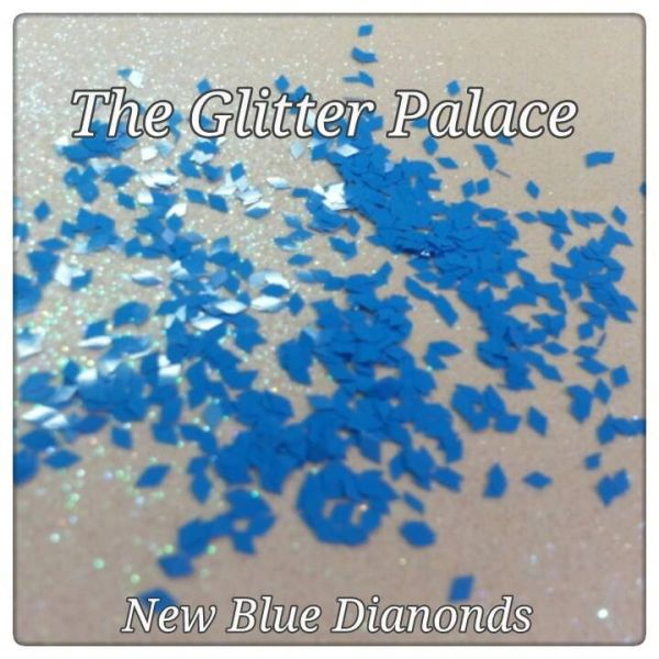 New Blue (Diamonds) Solvent Resistant Glitter