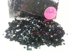 B2 Black Magic (.062) Solvent Resistant Glitter