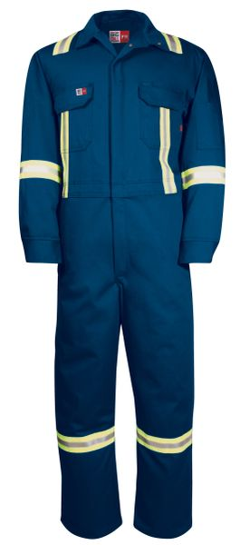Big Bill 7 oz Westex™ Ultra Soft® Deluxe HiViz FR Coverall; Style: 1625US7