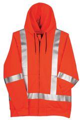 Big Bill 12.5 oz Polartec® Wind Pro® FR Zip Up Hooded Sweatshirt; Style: RT17WP12
