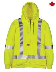 Big Bill 14 oz. Flamex® FR Full-Zip Hooded Sweatshirt; Style: RT27IT14