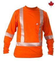 Big Bill 6.4 oz Polartec® Power Dry® FR Long Sleeve T-shirt; Style: SRT5PD6