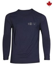 Big Bill 7.5 oz Polartec® Power Dry® FR Seamless Undergarment Long Sleeve T-Shirt; Style: DW1PD7