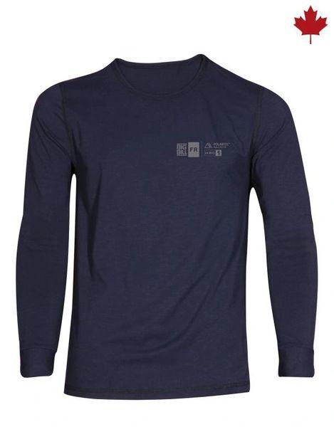 Big Bill 7.5 oz Polartec® Power Dry® FR Seamless Undergarment Long Sleeve T-Shirt; Style: DW1PD7
