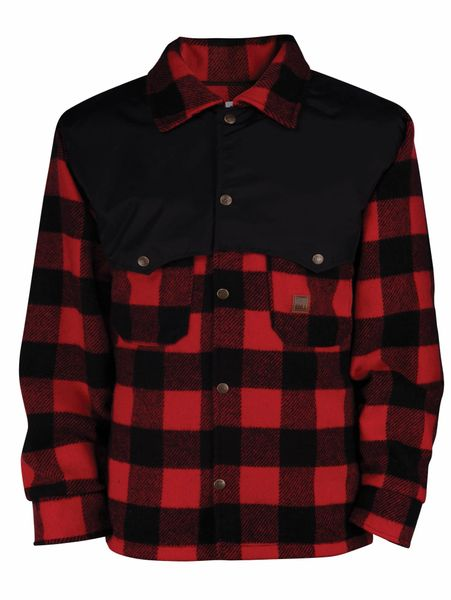 Big Bill 17 oz Plaid Wool Jacket; Style: 472