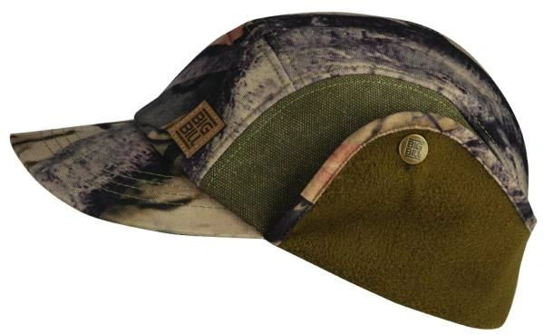 Big Bill Camo Hat with Fleece Ear Flaps; Style: BBHHAT1