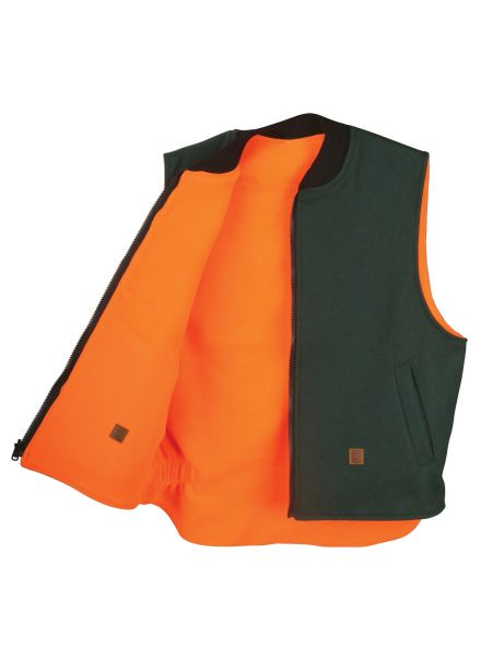 Big Bill 24 oz Wool Reversible Vest; Style: 614