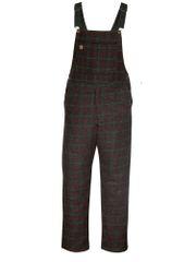 Big Bill 28 oz Charcoal Plaid Woodsman's Bib Overall; Style: 190