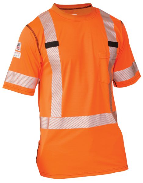 Big Bill HiViz Polartec® Power Grid® Power Dry® T-shirt; Style: RT54HVK5
