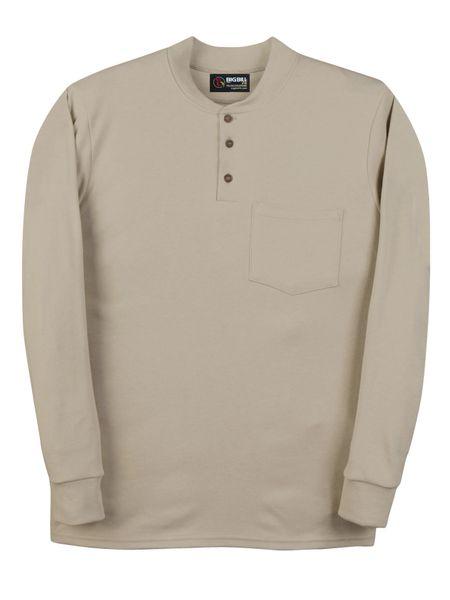 Big Bill 6.5 oz Flamex® FR Long Sleeve Henley; Style: DW18IT6