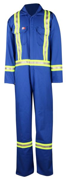Big Bill Westex UltraSoft® Flashtrap® FR coverall with Reflective Material; Style: 1155US7