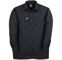 Big Bill Long Sleeve Button Front Closure Work Shirt; Style: 147
