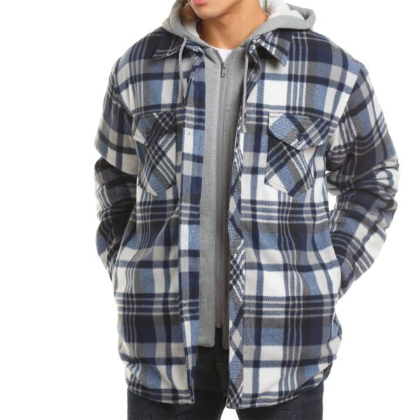 Tough Duck Sherpa Lined Fleece Shirt; Style: WS02