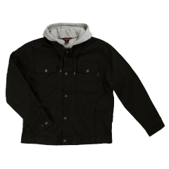 Tough Duck Hooded Trucker Jacket; Style: WJ12