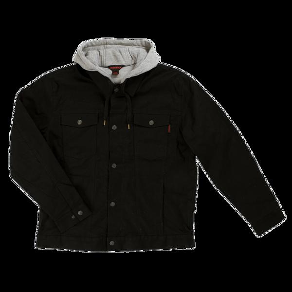 Tough Duck Hooded Trucker Jacket; Style: WJ12