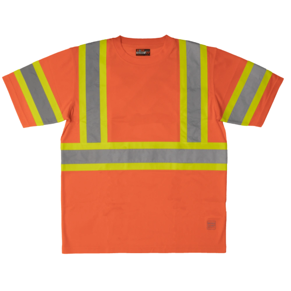 Tough Duck S/S Safety T-Shirt; Style: ST09