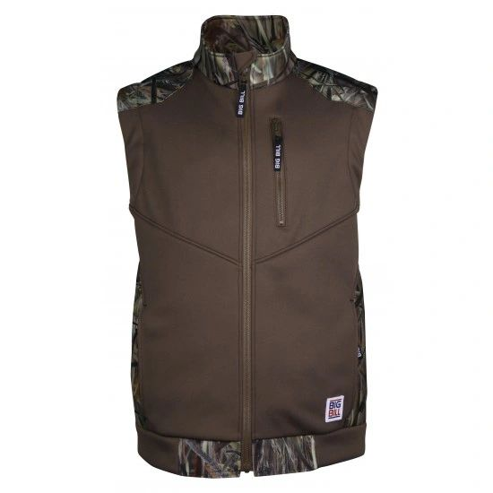 Big Bill Soft Shell Camo Vest; Style: BBVTC